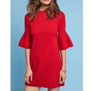 Anthro • Bell Sleeve Pullover Sweater Tunic